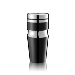 XD Design, Termohrnek Contour, 350 ml, černá
