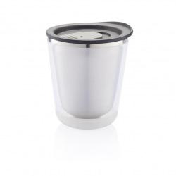 Termohrnek do kávovaru Dia, 227 ml, XD Design, šedý/černý