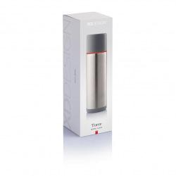 XD Design, Termoska Torre, 500 ml, červená