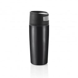 Termohrnek do auta Auto leak, 300 ml, XD Design, černý