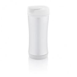 XD Design, Cestovní termohrnek Boom ECO, 225 ml, bílá