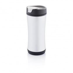 XD Design, Cestovní termohrnek Boom ECO, 225 ml, černá