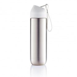 XD Design, Neva, sportovní nerezová láhev, 500 ml, bílá
