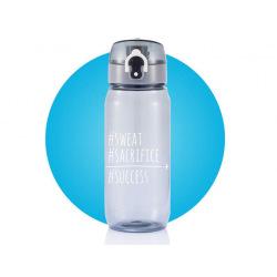 Loooqs, Tritanová láhev, 600 ml, Sweat, šedá