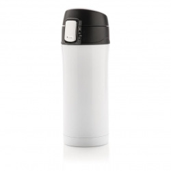 Uzamykatelný termohrnek Easy, 300 ml, Loooqs, bílý