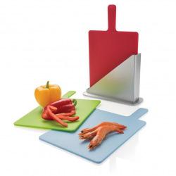 Sada kuchyňských prkének pro jednotlivé suroviny, Loooqs