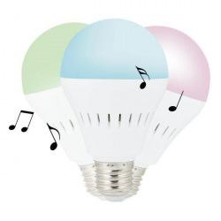 Loooqs, LED žárovka 5W s Bluetooth reproduktorem 3W, P330.083