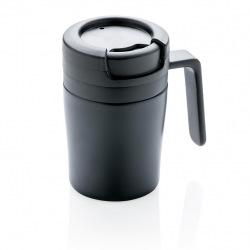 Termohrnek Coffee to Go do kávovaru s ouškem, 160 ml, XD Design, černý