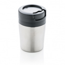 Termohrnek Coffee to Go do kávovaru, 160 ml, XD Design, stříbrný