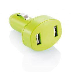 Loooqs, Nabíječka do auta se dvěma USB vstupy, limetková