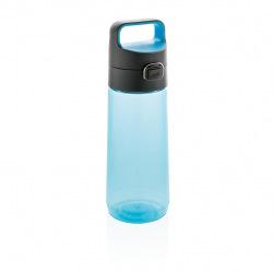 Láhev na vodu s uzamykatelným víčkem, 600 ml, XD Design, černá