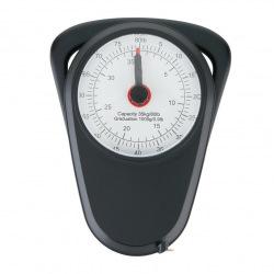 Loooqs, Retro analogová závěsná váha do 35 kg, černá
