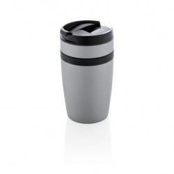 Termohrnek do kávovaru Sierra, 280 ml, XD Xclusive, stříbrný