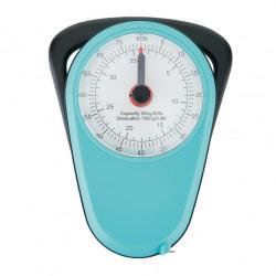 Loooqs, Retro analogová závěsná váha do 35 kg, modrá