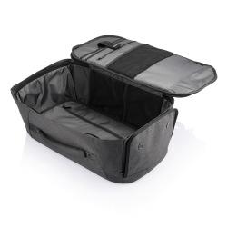 Cestovní batoh a taška v jednom, který nelze vykrást Bobby Duffle, šedý