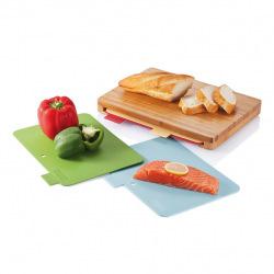Sada prkének na potraviny s úložným bambusovým boxem, XD Design