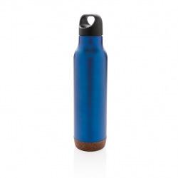Termolahev Cork, 600 ml, XD Design, modrá