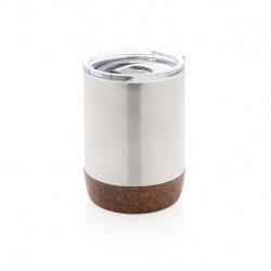 Termohrnek do kávovaru Cork, XD Design, stříbrný