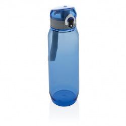 Láhev na vodu s uzamykatelným víčkem XL, 800 ml, XD Design, modrá