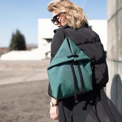Designový batoh Indigo Raja, zelený