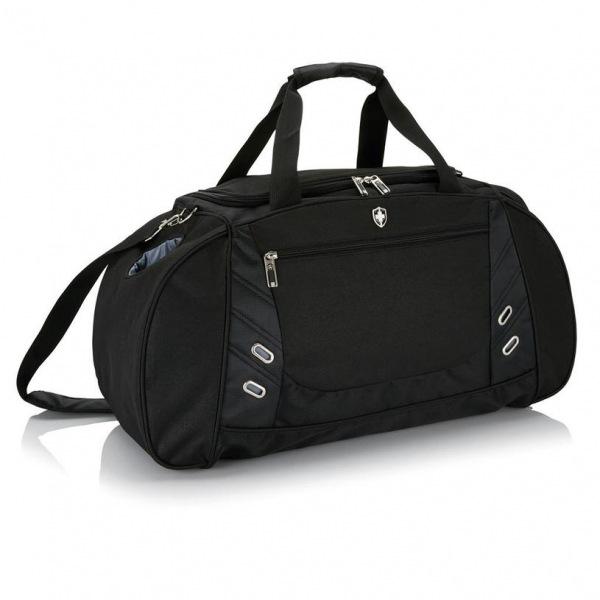 Chytrá sportovní taška Swiss Peak, černá