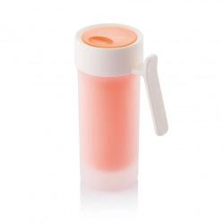 XD Design, Pop, cestovní hrnek, 275 ml, oranžová