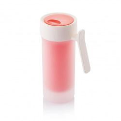 XD Design, Pop, cestovní hrnek, 275 ml, červená